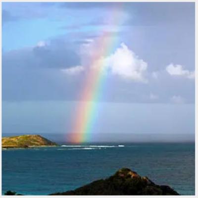 Arc en ciel de Martinique
