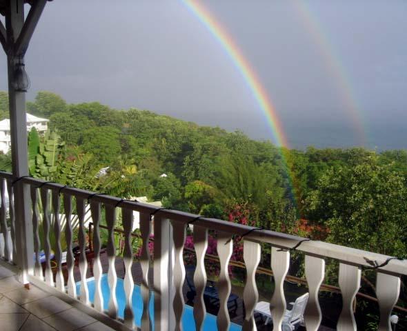 La météo en Martinique