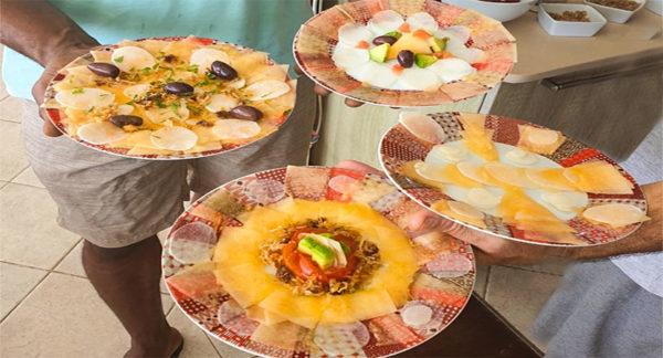 La cuisine Créole, en 3 V: Végétale, Vivante et Variée