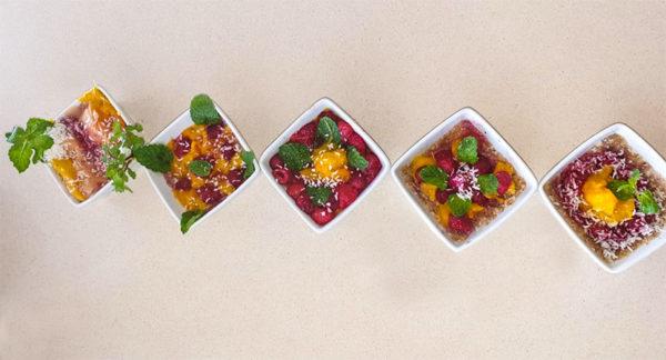 la cuisine Créole en 3 V végétale vivante et variée