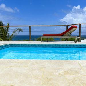 Location vue Turquoise Tartane vue mer piscine