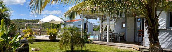 Location villa Sainte Luce Martinique 5 chambres piscine vue mer Fleur