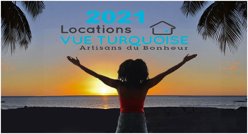 2021 Martinique Les Voeux de l'équipe de Locations Vue Turquoise