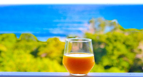 Le Jus d'Or Antillais, en 3 V détox du matin