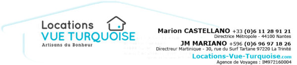 Contact location vue turquoise
