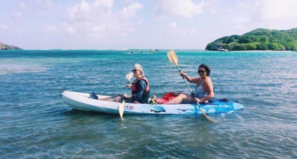 Kayak en Martinique : ballade le long des îlets du Robert
