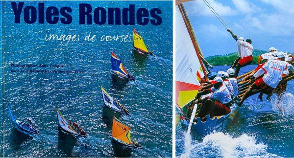 Tour de yoles rondes de Martinique en course