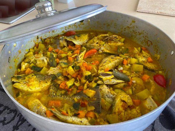 Colombo créole de poisson Martinique