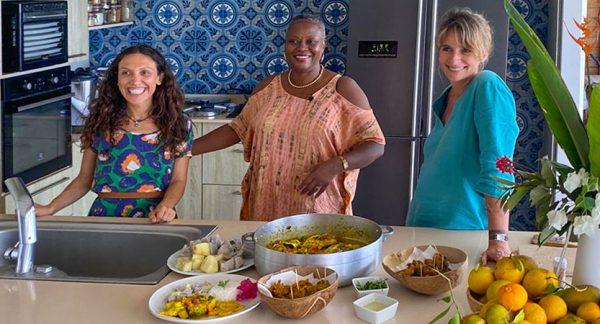 Cours et atelier cuisine créole à domicile en villa, lors de vos vacances en Martinique