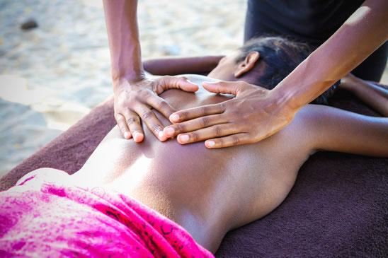 Massage revitalisant Martinique