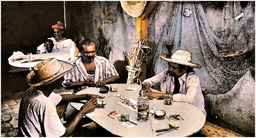 Partie de Dominos Martinique